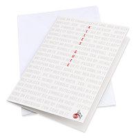 Grußkarte Alles Gute Schriftzüge (1)