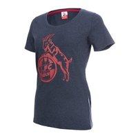 "Damen T-Shirt ""Basic navy rot"" (1)"