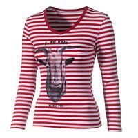 Damen T-Shirt Ringelhennes (1)