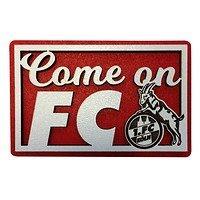 Holzmagnet Come on FC (1)