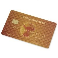 """Gutscheinkarte """"Scheckkarte gold"""" (1)"""