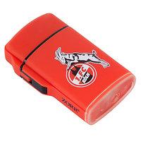 Feuerzeug Rubber rot (1)