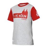 Freizeitshirt Rot Grau Junior (1)