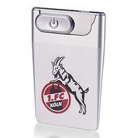 Feuerzeug USB Card silber (1)