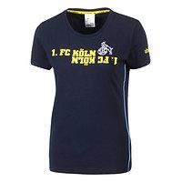 Freizeitshirt Damen blau/gelb (1)