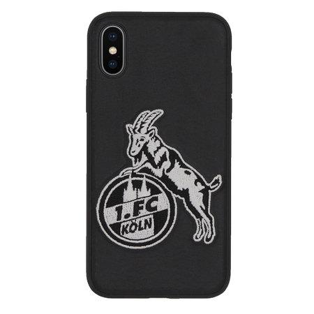 """Cover """"Logo gestickt"""" iPhone X/XS"""