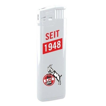 """Feuerzeug """"Seit 1948"""", weiß"""