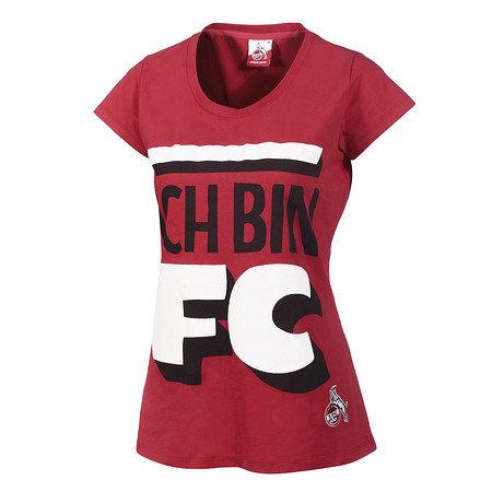 """Damen T-Shirt Mitglieder rot """"Ich Bin"""""""