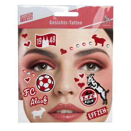 Gesichts Tattoo FC-Mix