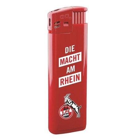 """Feuerzeug """"Die Macht am Rhein"""", rot"""