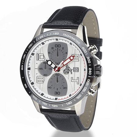 Chronograph schwarz-metallic
