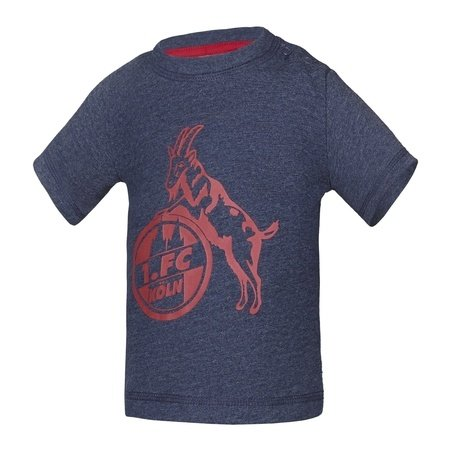 "Baby T-Shirt ""Basic navy rot"""