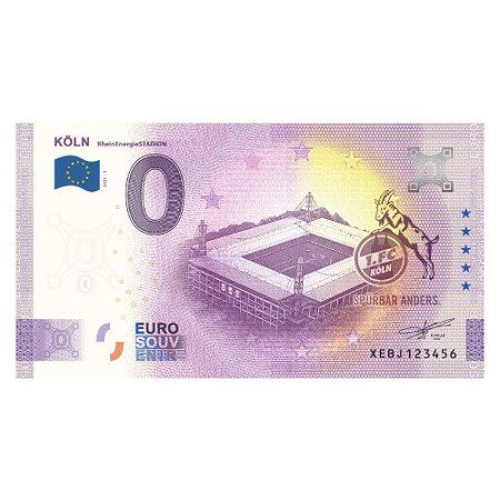 Null-Euro-Schein RheinEnergieSTADION