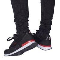 Fan-Sneaker schwarz (3)