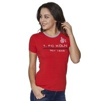 Frauen Sportswear T-Shirt rot (2)