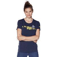 Freizeitshirt Damen blau/gelb (2)