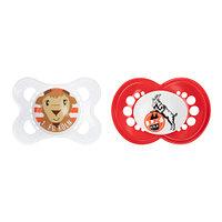 Baby-Schnuller 2er Set Schnute + Logo 6-16 (2)