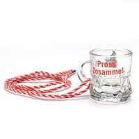 Schnapsglas mit Kordel (2)
