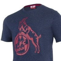"T-Shirt ""Basic navy rot"" (3)"