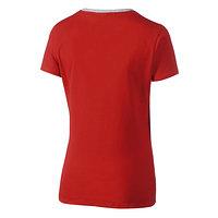 Frauen Sportswear T-Shirt rot (3)