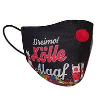 """Mund-Nasen-Maske """"Dreimol Kölle Alaaf"""" (2)"""