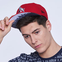 """Cap """"9Fifty"""" Skyline Red (2)"""