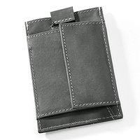 Slim Leder-Geldbörse mit Münzfach (3)