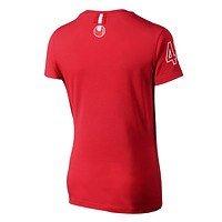 Freizeitshirt Damen rot (3)