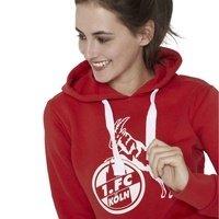 "Damen Hoodie ""Basic rot-weiß"" (2)"