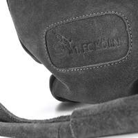 Wildleder- Shopper Handtasche (5)