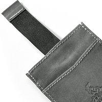 Slim Leder-Geldbörse mit Münzfach (2)
