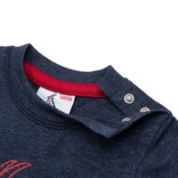 "Baby T-Shirt ""Basic navy rot"" (5)"