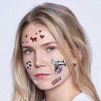 Gesichts Tattoo FC-Mix (4)