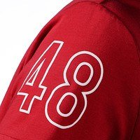 Freizeitshirt Damen rot (5)