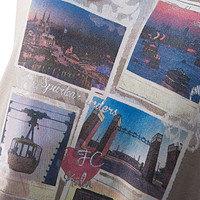 """Damen T-Shirt """"Poststr."""" (4)"""