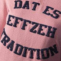 """Damen Sweatshirt """"Wedekindstr."""" (4)"""