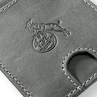 Slim Leder-Geldbörse mit Münzfach (4)