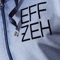 """Sweatjacke """"EFFZEH"""" Blue (3)"""